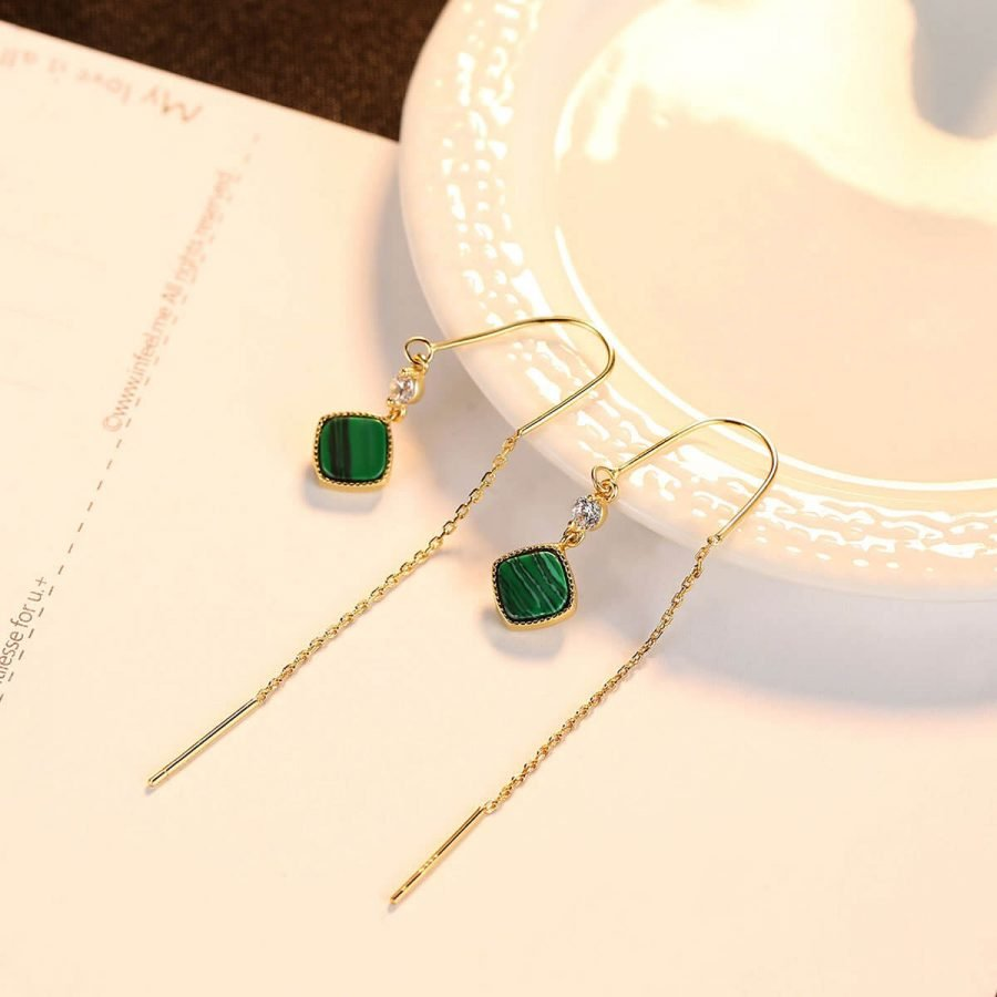ear threader earrings
