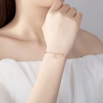 moon and star bracelet